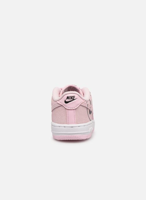 competitive price 02111 811d6 Trainers Nike Force 1 Lv8 2 (Td) Pink view from the right