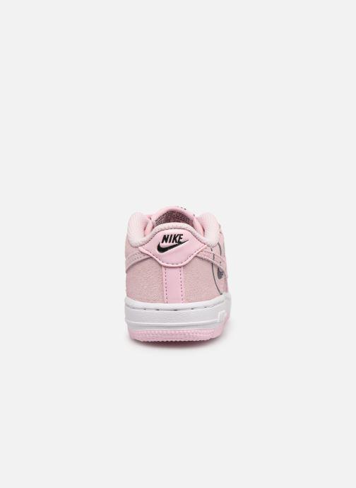 Sneaker Nike Force 1 Lv8 2 (Td) rosa ansicht von rechts