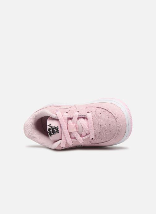 Sneaker Nike Force 1 Lv8 2 (Td) rosa ansicht von links
