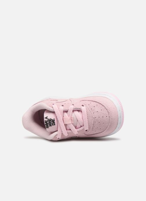 Sneaker Nike Force 1 Lv8 2 (Td) rosa ansicht von links