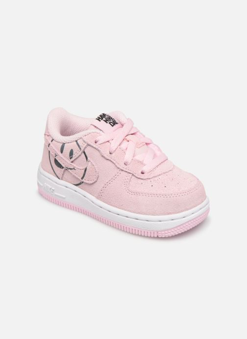 on sale ad2d8 7f4a2 Sneakers Nike Force 1 Lv8 2 (Td) Rosa detaljerad bild på paret