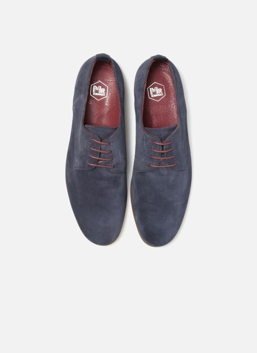 Zapatos con cordones Mr SARENZA Nincana Azul vista del modelo