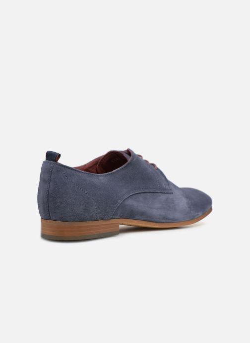 Zapatos con cordones Mr SARENZA Nincana Azul vista de frente