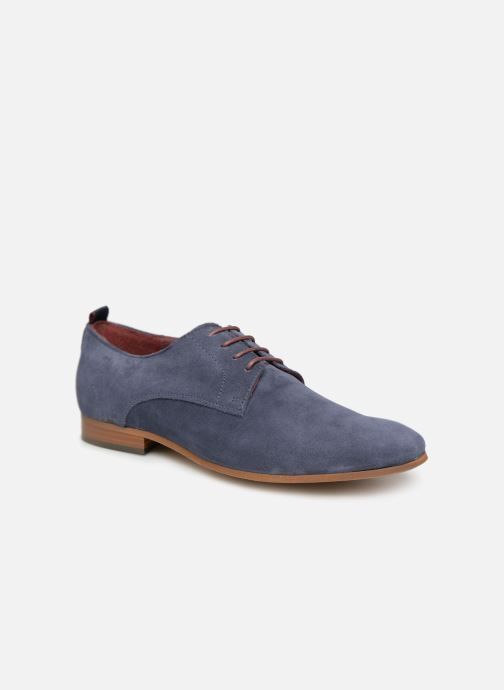 Zapatos con cordones Mr SARENZA Nincana Azul vista lateral derecha