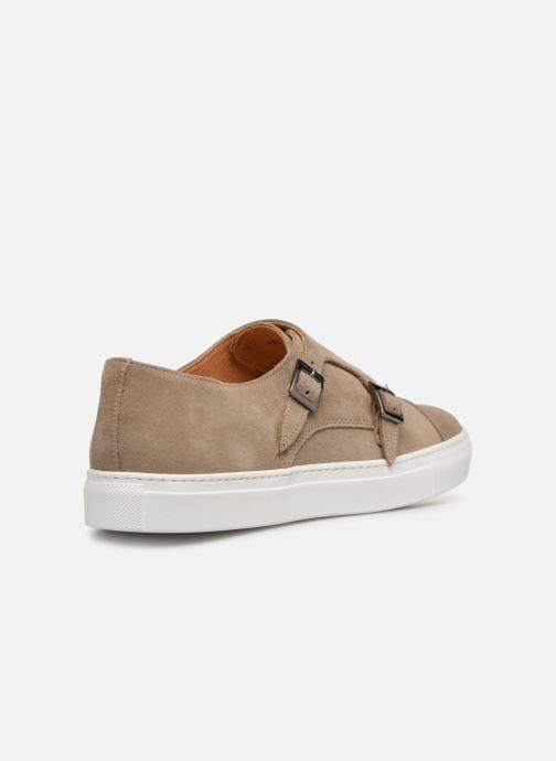 Sneakers Mr SARENZA Naboucle Beige immagine frontale