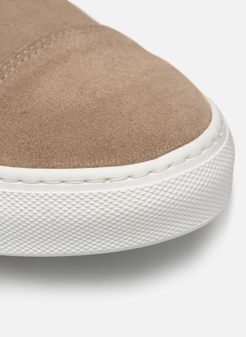 Sneakers Mr SARENZA Naboucle Beige immagine sinistra