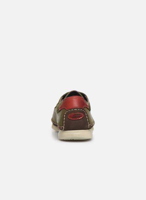 Baskets Fluchos Komodo F0199 Vert vue droite