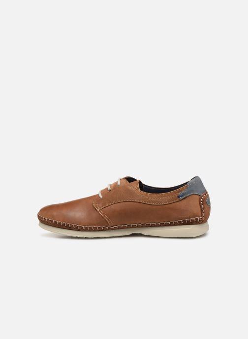 Chaussures à lacets Fluchos Komodo F0197 Marron vue face