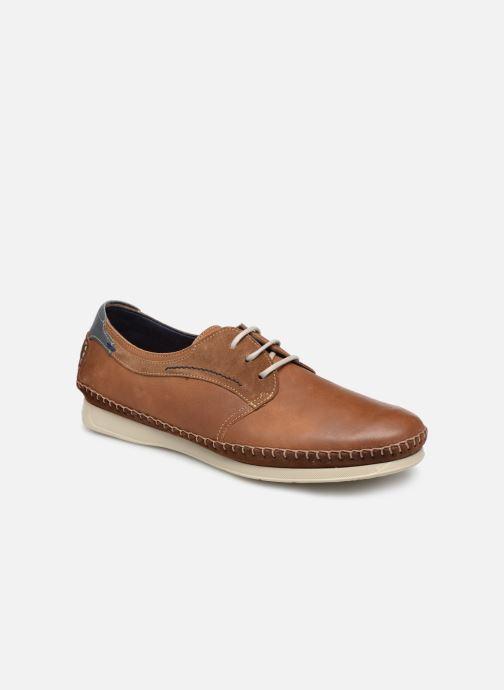Chaussures à lacets Fluchos Komodo F0197 Marron vue détail/paire