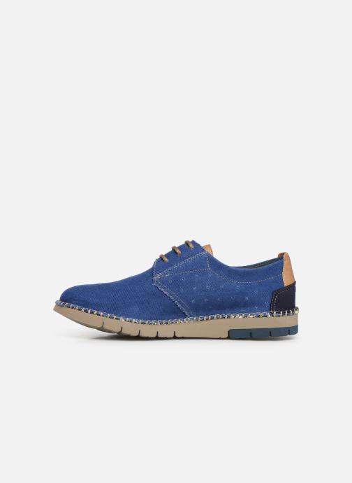 Scarpe con lacci Fluchos Thomas F0560 Azzurro immagine frontale