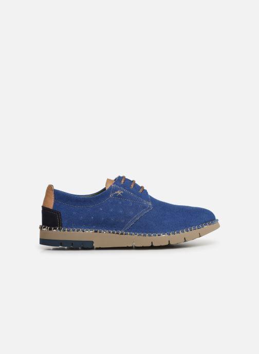 Chaussures à lacets Fluchos Thomas F0560 Bleu vue derrière