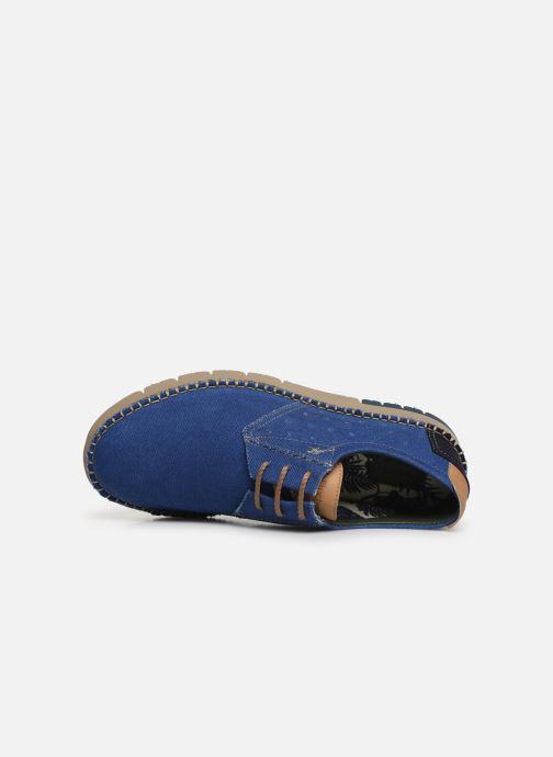 Scarpe con lacci Fluchos Thomas F0560 Azzurro immagine sinistra