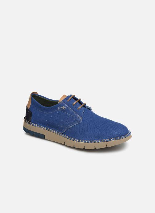 Chaussures à lacets Fluchos Thomas F0560 Bleu vue détail/paire