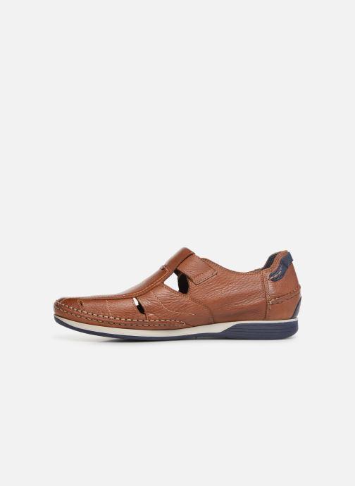 Sandales et nu-pieds Fluchos James 9137 Marron vue face