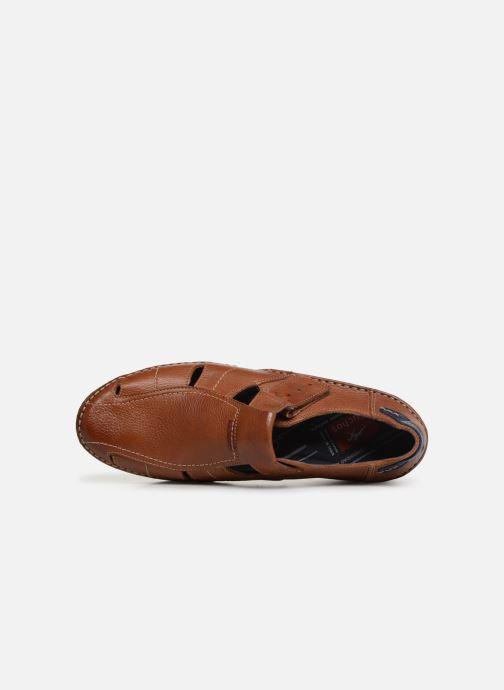 Sandales et nu-pieds Fluchos James 9137 Marron vue gauche