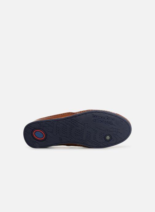Sandales et nu-pieds Fluchos James 9137 Marron vue haut