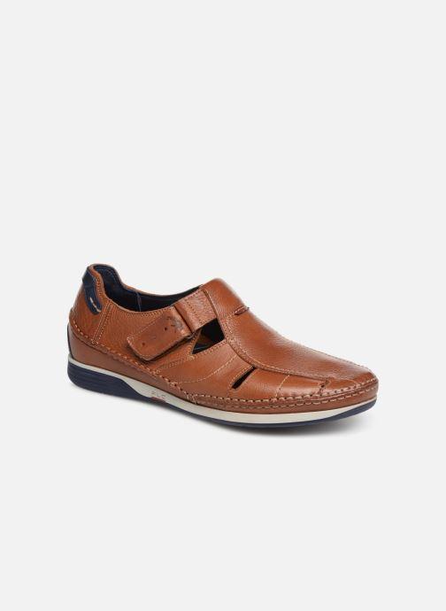 Sandales et nu-pieds Fluchos James 9137 Marron vue détail/paire