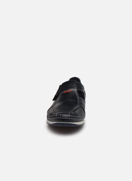 Sandalen Fluchos James 9137 blau schuhe getragen