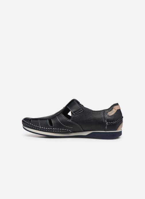 Sandalen Fluchos James 9137 blau ansicht von vorne