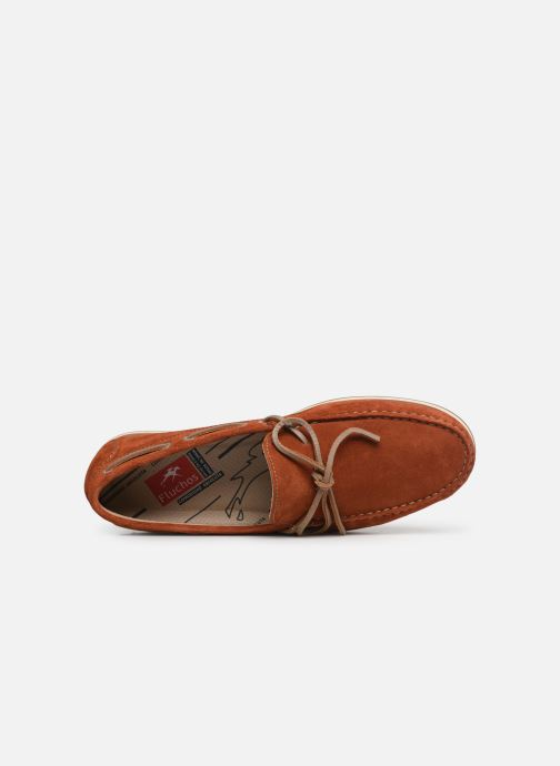 Mocassins Fluchos Evoke F0425 Orange vue gauche