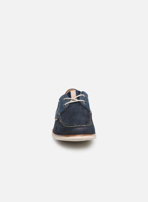 Chaussures à lacets Fluchos Giant 9763 Bleu vue portées chaussures