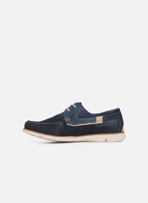 Chaussures à lacets Fluchos Giant 9763 Bleu vue face