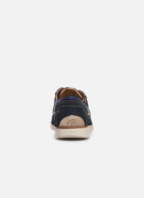 Chaussures à lacets Fluchos Giant 9763 Bleu vue droite