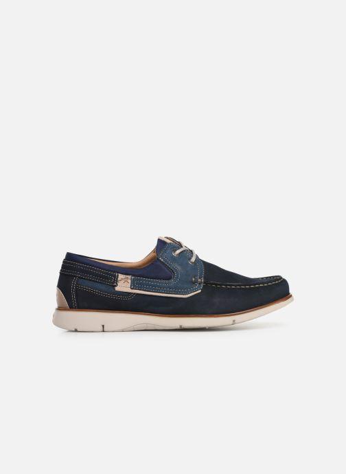 Chaussures à lacets Fluchos Giant 9763 Bleu vue derrière