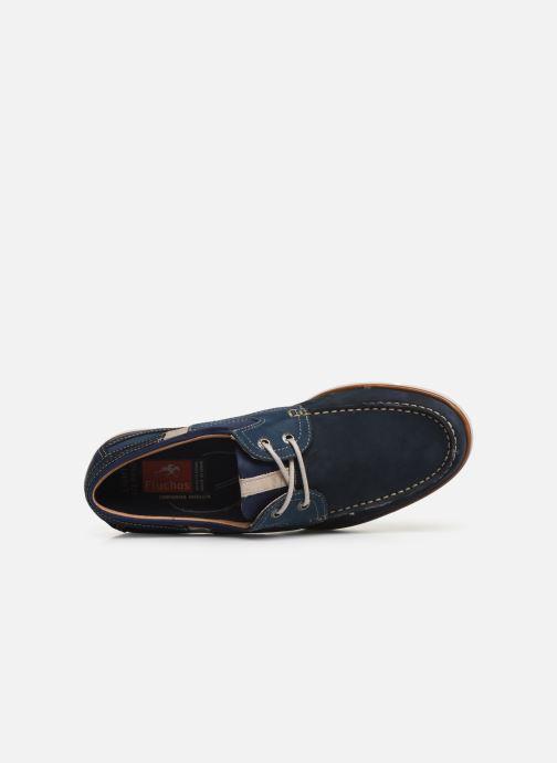 Chaussures à lacets Fluchos Giant 9763 Bleu vue gauche