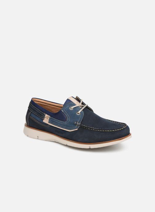 Chaussures à lacets Fluchos Giant 9763 Bleu vue détail/paire