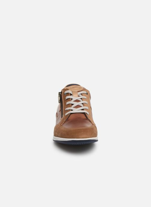Sneakers Fluchos Daniel F0207 Brun bild av skorna på