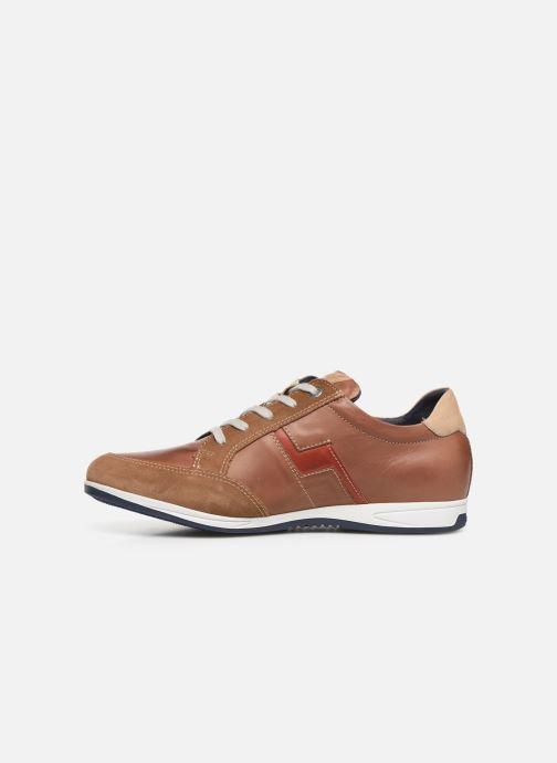 Sneakers Fluchos Daniel F0207 Brun bild från framsidan