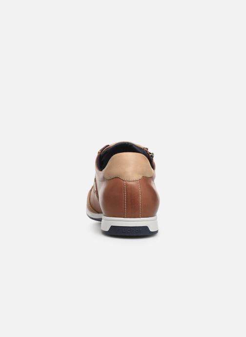Sneakers Fluchos Daniel F0207 Brun Bild från höger sidan