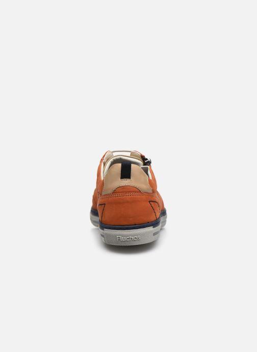 Sneakers Fluchos Quebec 9376 Marrone immagine destra
