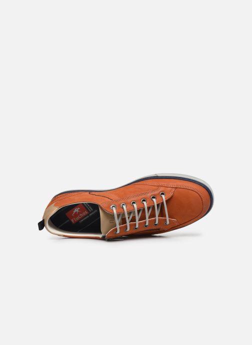 Sneakers Fluchos Quebec 9376 Marrone immagine sinistra