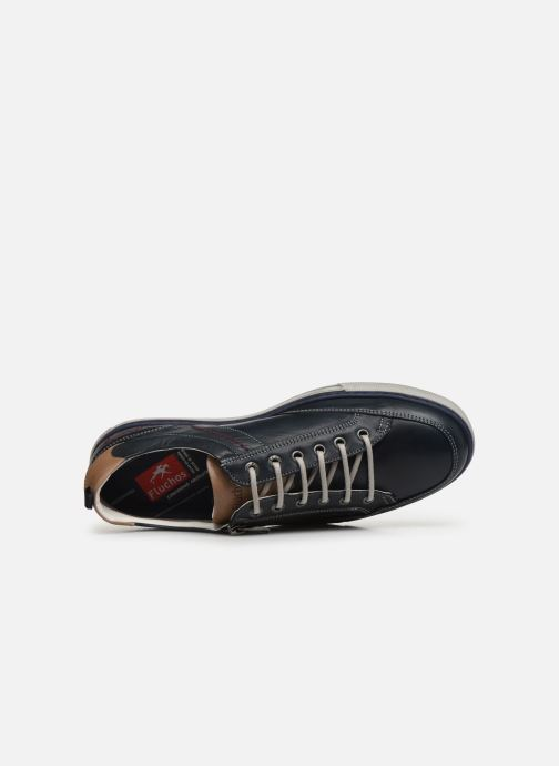Sneakers Fluchos Quebec 9376 Azzurro immagine sinistra