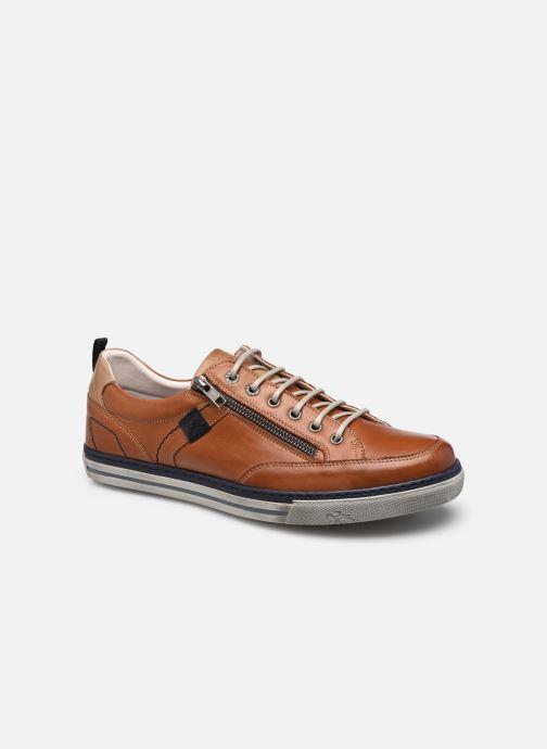 Sneakers Fluchos Quebec 9376 Bruin detail