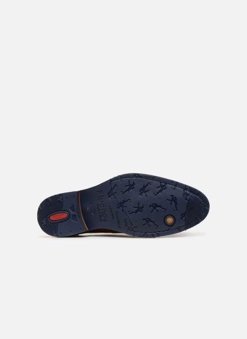 Zapatos con cordones Fluchos Olimpo F0137 Marrón vista de arriba