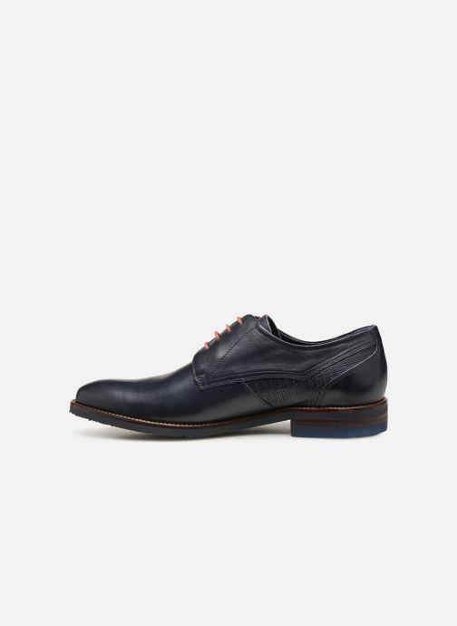 Zapatos con cordones Fluchos Olimpo F0137 Azul vista de frente