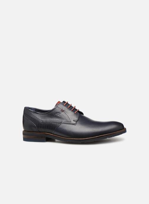 Zapatos con cordones Fluchos Olimpo F0137 Azul vistra trasera