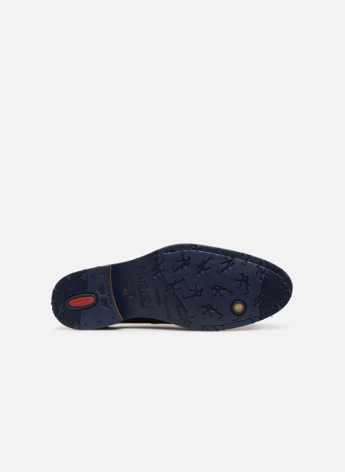 Zapatos con cordones Fluchos Olimpo F0137 Azul vista de arriba