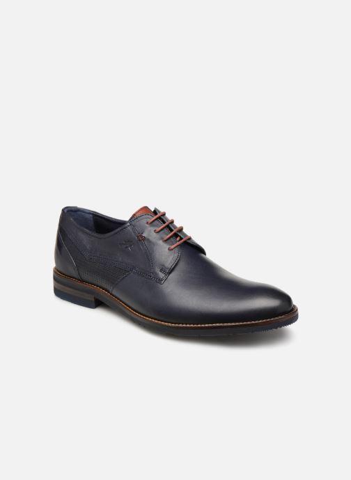 Zapatos con cordones Fluchos Olimpo F0137 Azul vista de detalle / par