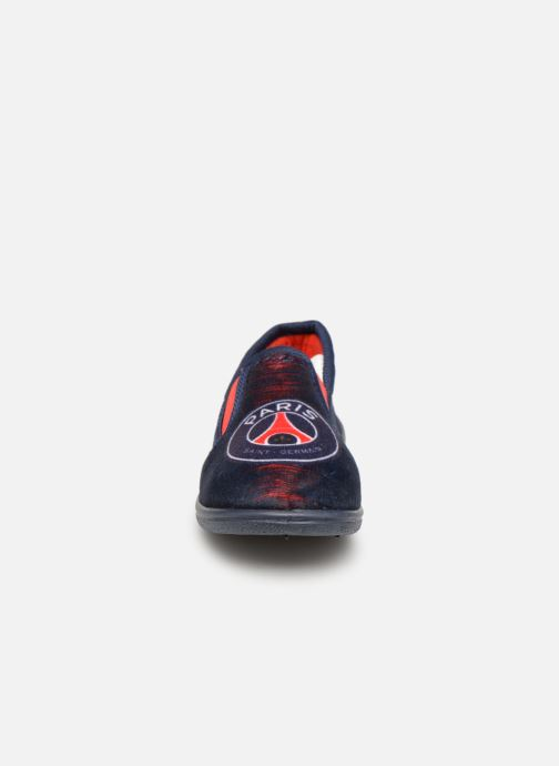 Pantofole PSG FAVIER Azzurro modello indossato