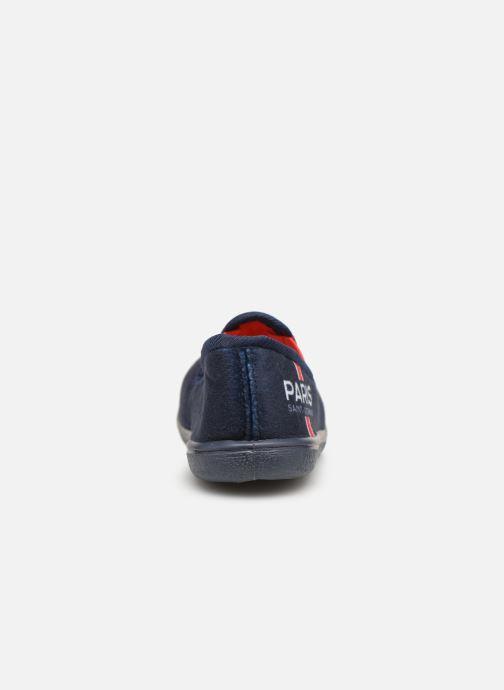 Pantofole PSG FAVIER Azzurro immagine destra
