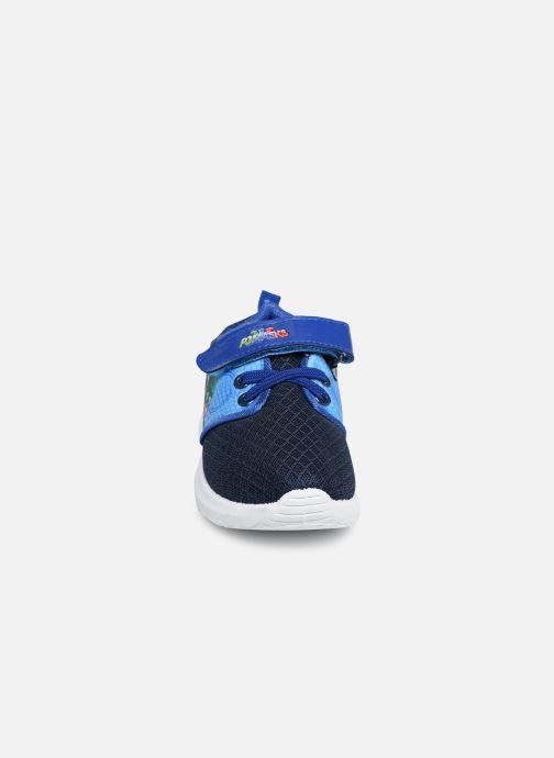 Baskets PJ Masks PJ JORIK C Bleu vue portées chaussures