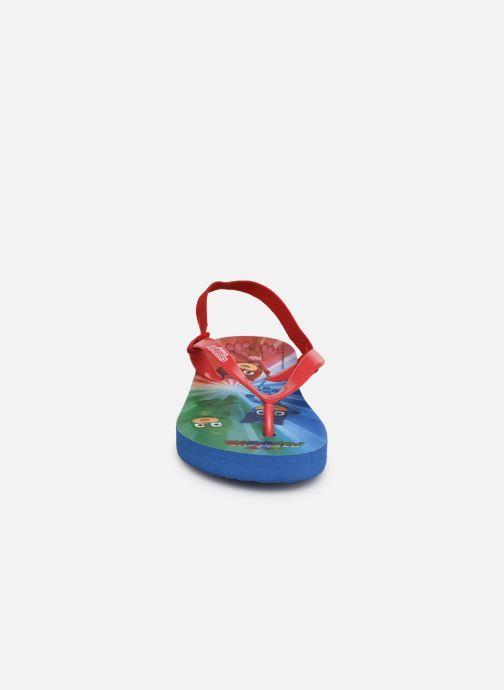 Tongs PJ Masks PJ FLO ELAST C Rouge vue portées chaussures