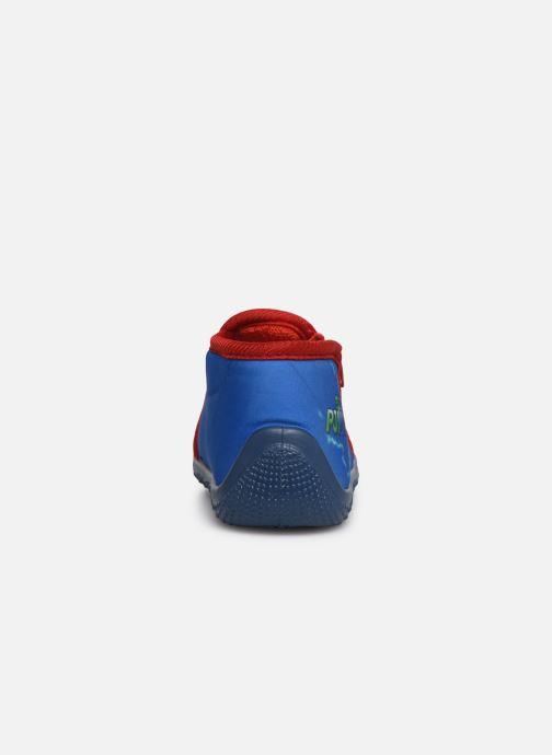 Pantuflas PJ Masks PJ MAX C Azul vista lateral derecha