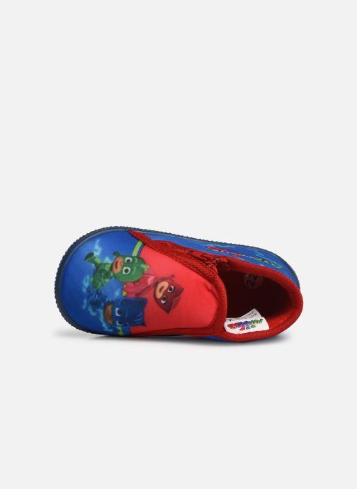 Pantuflas PJ Masks PJ MAX C Azul vista lateral izquierda