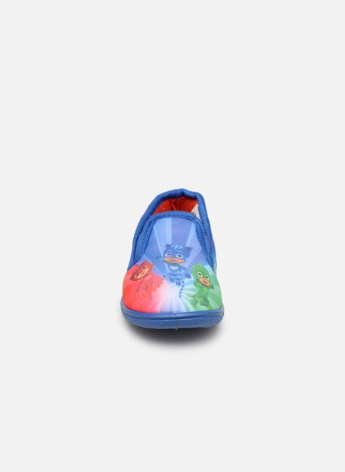 Chaussons PJ Masks PJ CIDIAC C Bleu vue portées chaussures