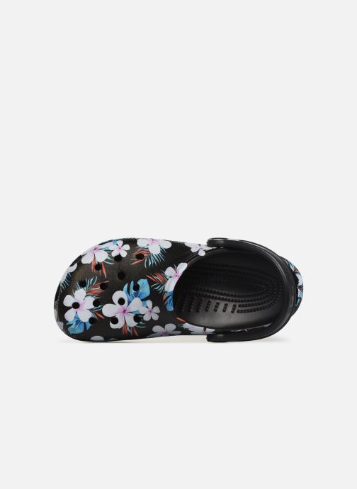 Mules & clogs Crocs Classic Seasonal Graphic Clog F Black view from the left